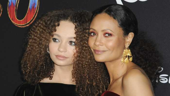 Thandie Newton Attends 'Dumbo' Premiere With Daughter Nico Parker