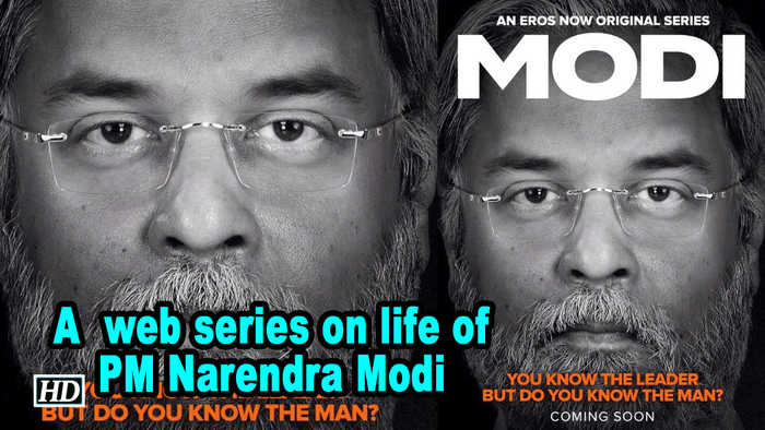 'Modi', a  web series on life of PM Narendra Modi | First Poster OUT