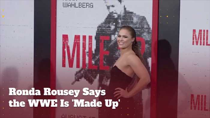 Ronda Rousey Doesn't Want To Be A Dancing Monkey Anymore
