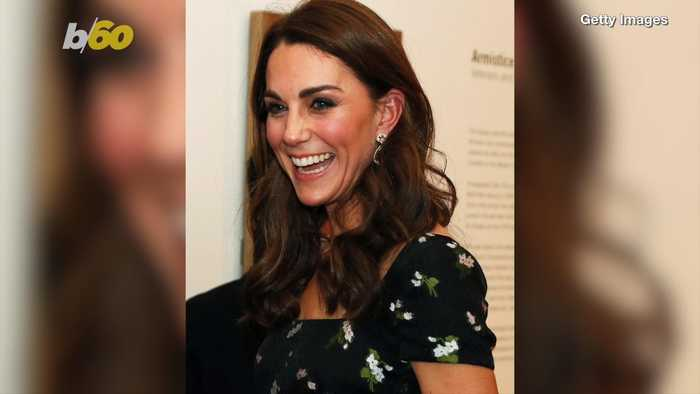 Kate Middleton Restyles Old Gown for Night Out