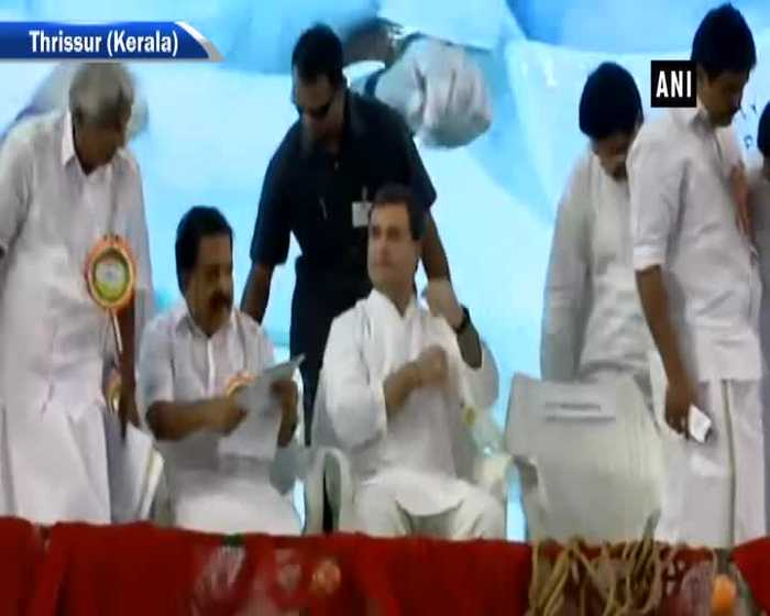 Rahul Gandhi addresses Fishermen Parliament in Kerala