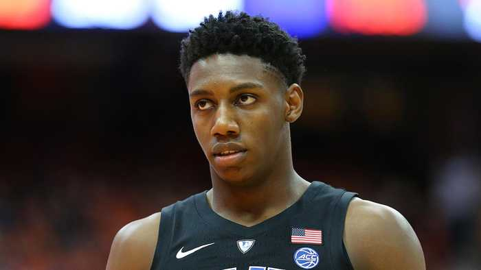 R.J. Barrett's High School Coach Says Barrett 'Is More Ready for the NBA'