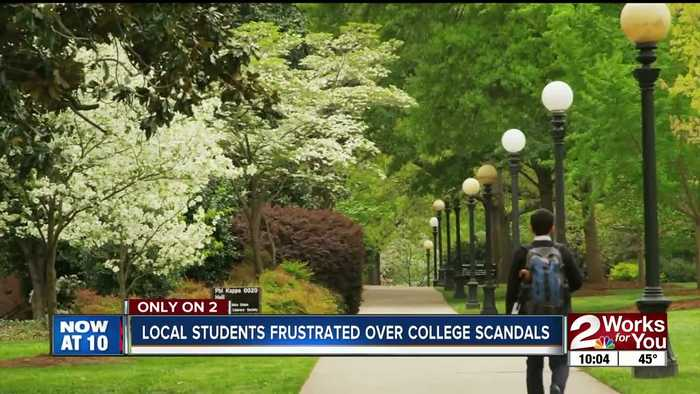 Local students voice frustration with college scandals