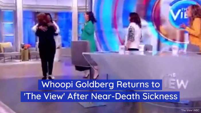 Whoopi Goldberg Was Near Death