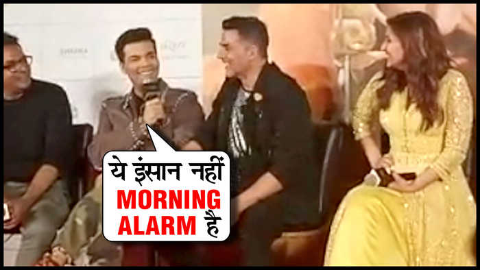 Karan Johar Makes FUN Of Akshay Kumar | Kesari