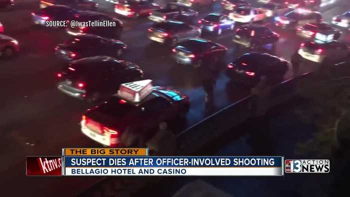 Suspect in Bellagio robbery on the Las Vegas Strip has died
