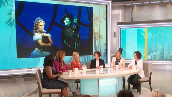 The Talk - Kristin Chenoweth on Who She'd Cast in 'Wicked' and Collaborating with Ariana Grande