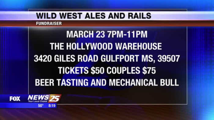 Wild West Ales and Rails Fundraiser