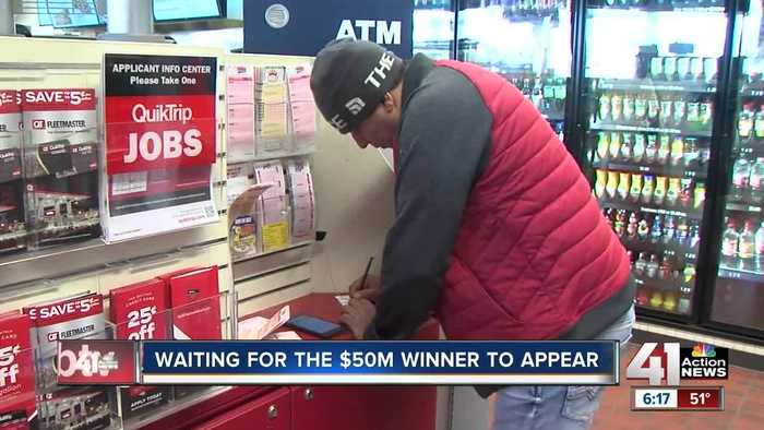 KC waiting for $50 million lottery winner to appear
