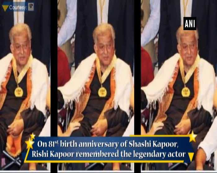 Rishi Kapoor remembers Shashi Kapoor on birth anniversary