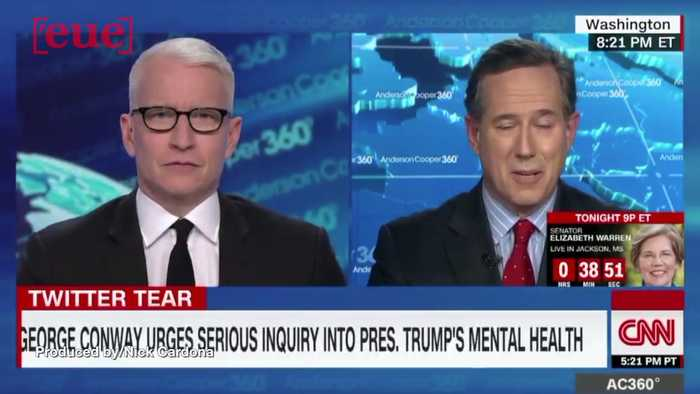 Former GOP Sen. Rick Santorum on Trump Tweets: 'I Wish He'd Write Them and Send Emails to a Therapist'