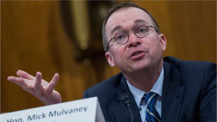 Mick Mulvaney Is Now Chief Of Staff