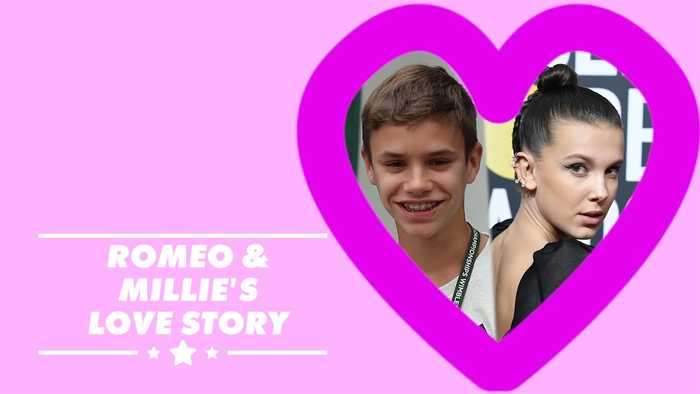 Teenage dream: Millie Bobby Brown & Romeo Beckham dating?