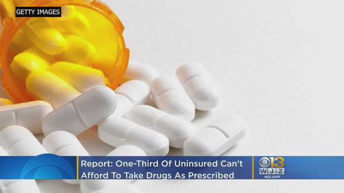 One-Third Of Uninsured Can't Afford To Take Drugs As Prescribed, Government Report Says
