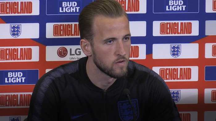 Harry Kane welcomes Callum Hadson-Odoi's flair to England Squad