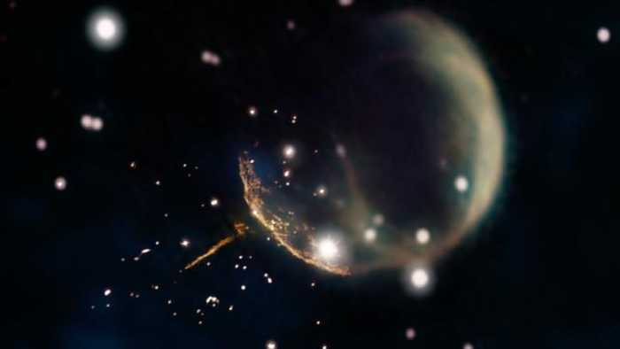 This Newly Discovered 'Cannonball' Pulsar Is Speeding Through Space At 700 Miles Per Second
