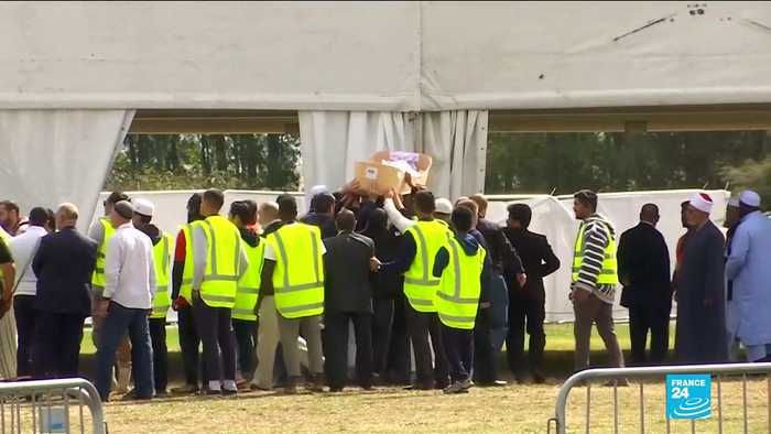 New Zealand mosque attack: First funerals held for shooting victims