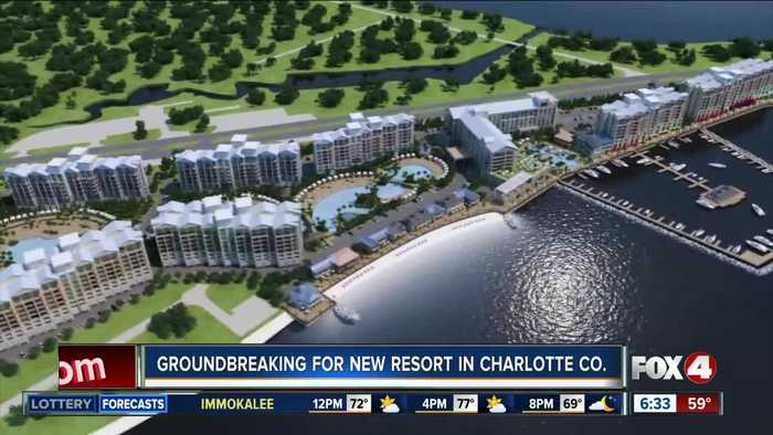 Construction begins for biggest waterfront resort in Charlotte County