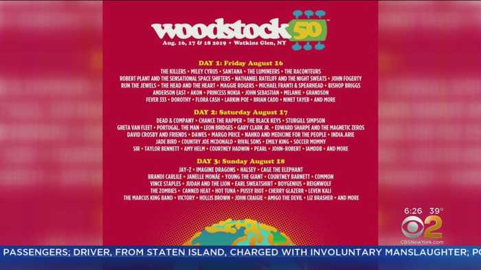Woodstock 50 Lineup Announced