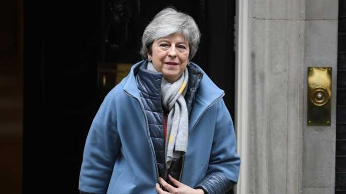 UK Prime Minister Theresa May Requests Brexit Extension