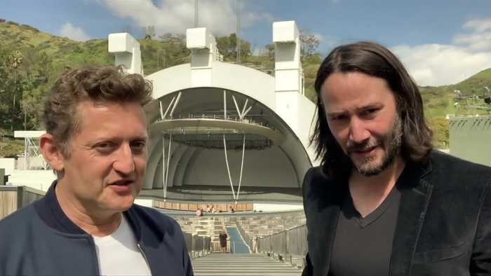 Keanu Reeves and Alex Winter tease third 'Bill & Ted'
