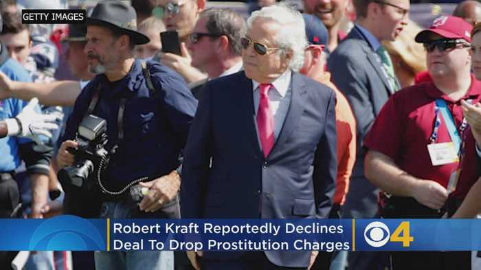 Robert Kraft Reportedly Rejects Plea Deal In Florida Prostitution Case