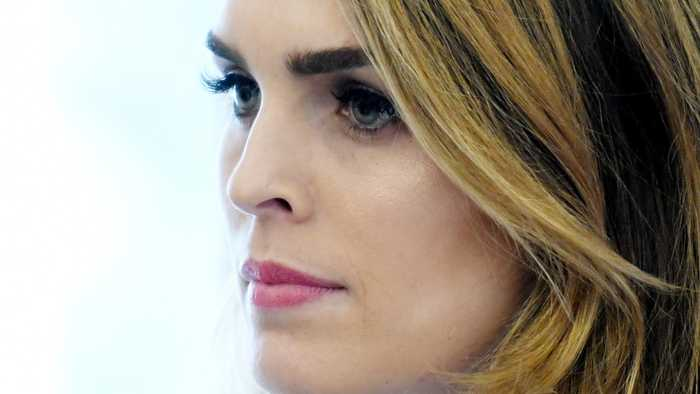 Hope Hicks To Cooperate With House Obstruction Of Justice Probe