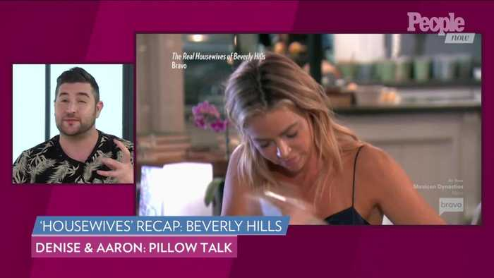 Denise Richards Can't Stop Talking About Now-Husband Aaaron Phypers' Penis on 'RHOBH'