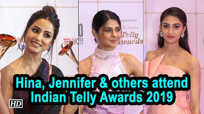 Hina Khan, Jennifer Winget and others attend Indian Telly Awards 2019