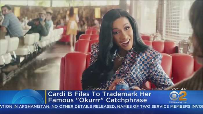 Cardi B Wants Trademark For 'Okurrr' Catchphrase