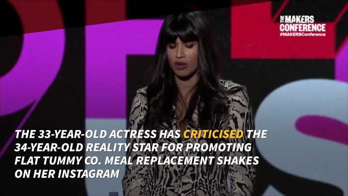 Jameela Jamil brands Khloe Kardashian 'irresponsible' for promoting weight loss shake