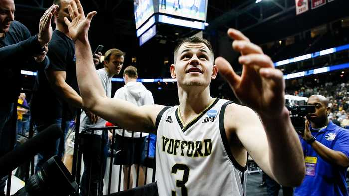 Wofford's Fletcher Magee Breaks Three-Point Record vs. Seton Hall