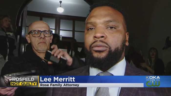 Antwon Rose Family Attorney Reacts To Michael Rosfeld Not Guilty Verdict