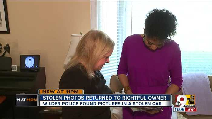 Stolen photos returned to rightful owner