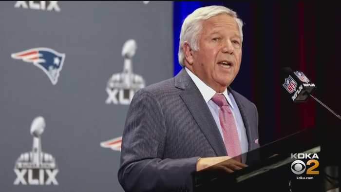 Robert Kraft Apologizes After Being Charged In Fla. Prostitution Bust