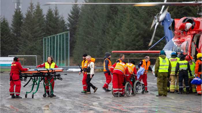 500 People Rescued From Norway Cruise Ship