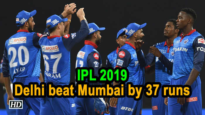 IPL 2019 | Match 3 | All-round effort helps Delhi beat Mumbai by 37 runs