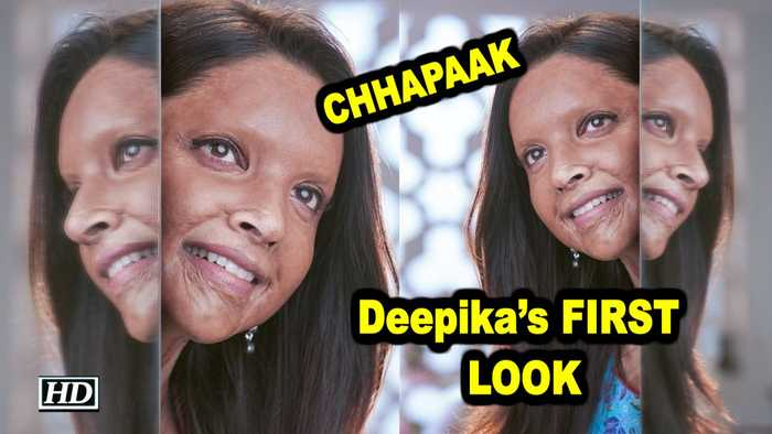 Deepika's FIRST LOOK as Acid Attack Survivor from 'CHHAPAAK'