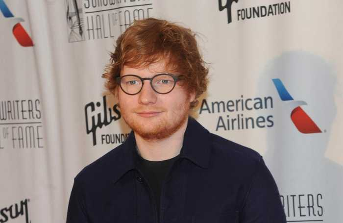 Ed Sheeran was bullied for his ginger hair