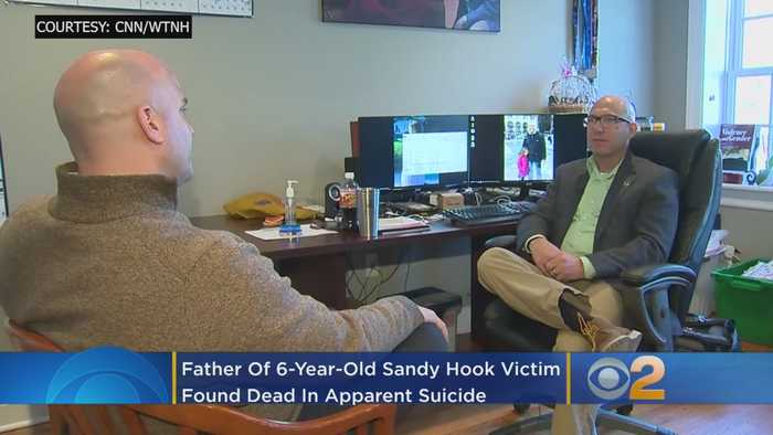 Father Of 6-Year-Old Sandy Hook Shooting Victim Found Dead In Apparent Suicide