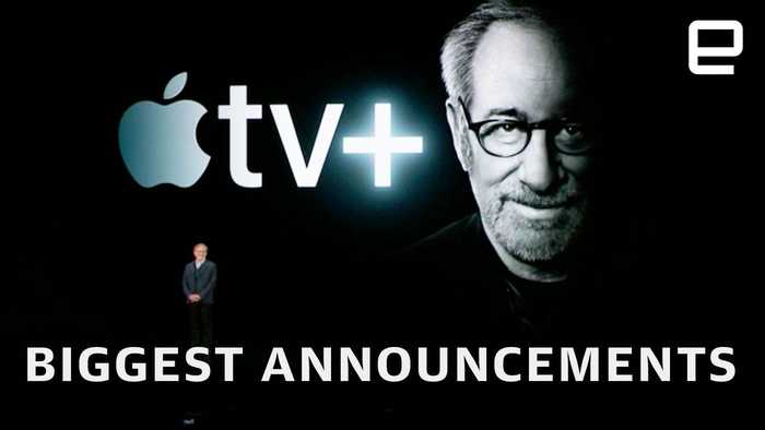 Apple TV+ and Apple News+ announcement in under 15 minutes