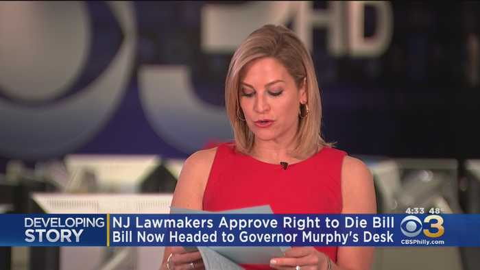 New Jersey Lawmakers Voted Today On 'Right To Die' Bill