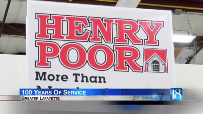 Henry Poor Lumber Co. honored for 100 years in business
