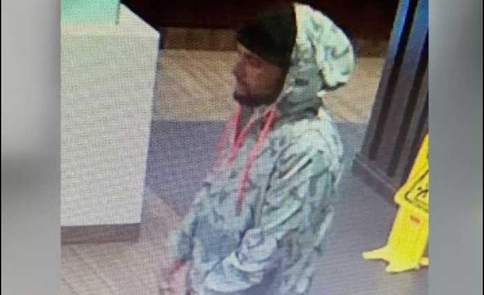 Vegas police search for man accused of robbing, beating elderly woman