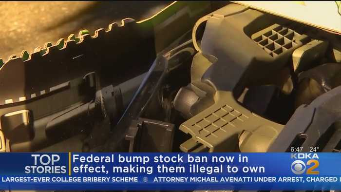 Federal Bump Stock Ban Goes Into Effect