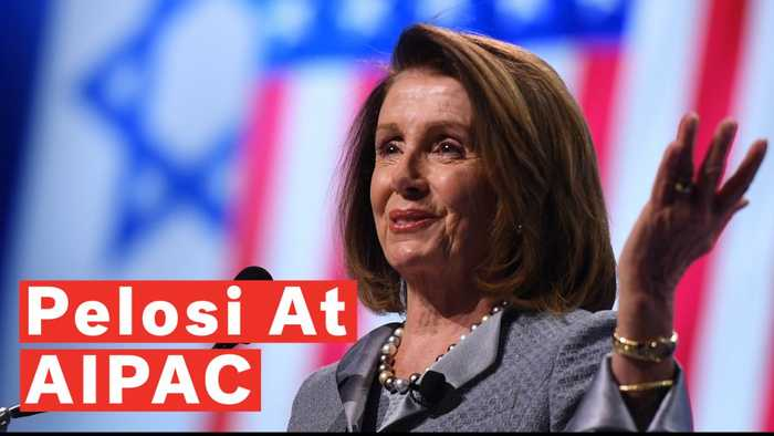 Nancy Pelosi Reaffirms Democrats' Support For Israel At AIPAC