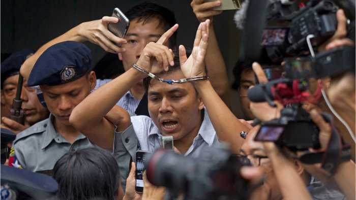 Myanmar's Supreme Court Hears Appeal For Jailed Journalists