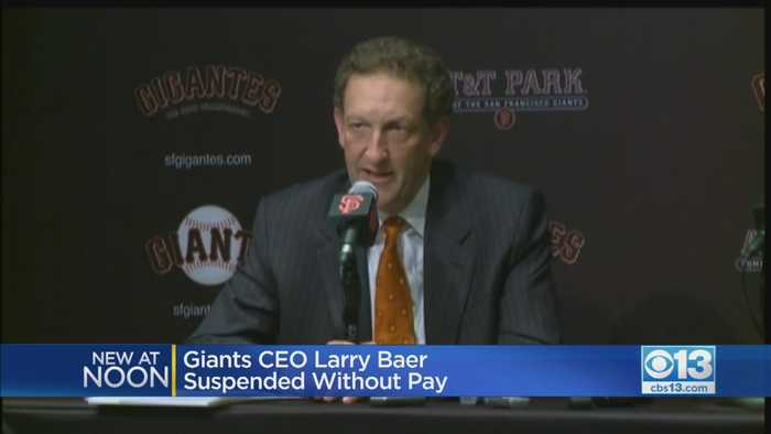 SF Giants CEO Larry Baer Suspended By MLB Following Altercation With Wife