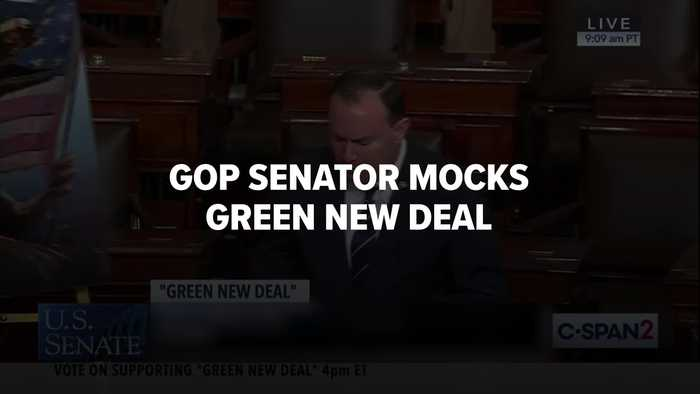 Sen. Mike Lee's Bizarre Remarks On Green New Deal