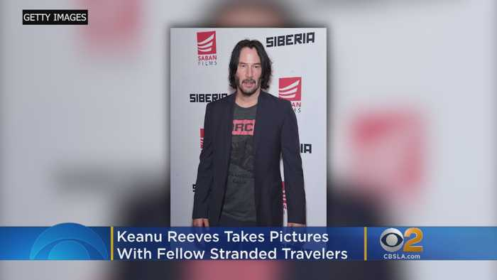 Keanu Reeves' Excellent Adventure: Stranded Actor Joins Group On Road Trip Back To LA